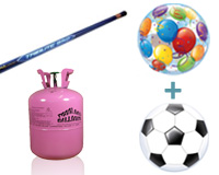 Compleet pakket (Around & Soccer Ball)